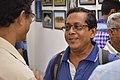 Mrinal Pal Discussing with Asim Kumar Poddar - PAD Group Exhibition - Kolkata 2017-06-20 0201.JPG