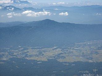 Moreya - Mount Moriya as seen from Mount Aka (part of the Yatsugatake Mountains).