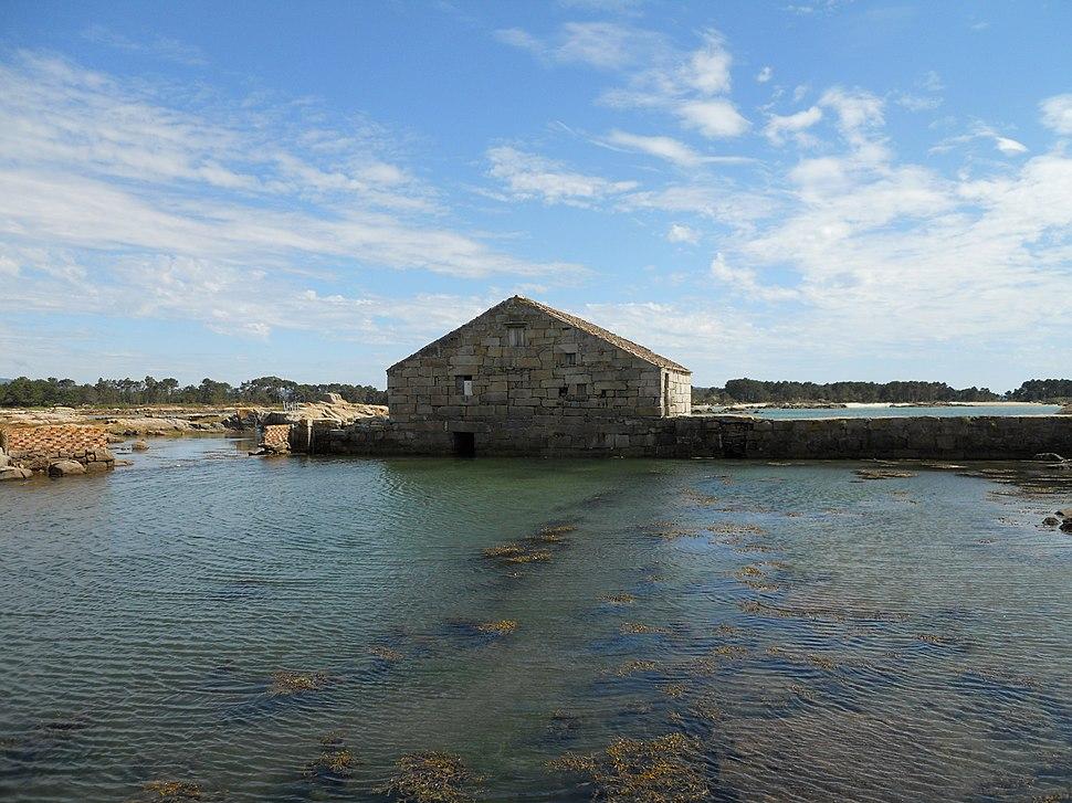 Muíño de mareas das Aceñas, A Illa de Arousa