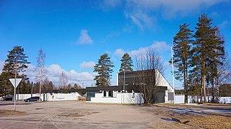 Multia, Finland - Image: Multia Kirkkoraitti 2