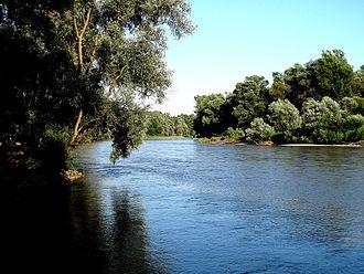 Mur (river) - The Mur river in Slovenia