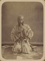 Musical Instruments and Musicians. A Man Playing a Koshnai, a Clarinet-like Instrument WDL10768.png