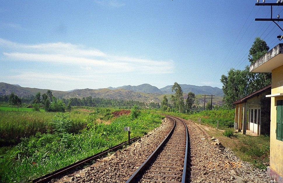 My Son railway tracks