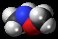 N,O-Dimethylhydroxylamine 3D spacefill.png