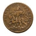 Nödmynt, Flink och färdig, 1718 - Skoklosters slott - 109273.tif