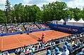 Nürnberger Versicherungscup 2014 - Centercourt des 1.FCN Tennis am Valznerweiher von Nord-Westen 01.JPG