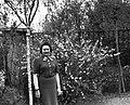 Nő 1940-ben Budapesten. Fortepan 16984.jpg