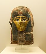 NAMA 8234a Ancient egyptian funerary mask