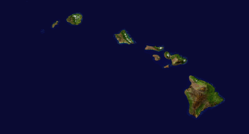 Figura:NASA Hawaiian Islands main islands.png