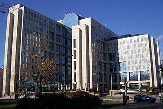 Liman, Novi Sad - NIS building, headquarters of Naftna Industrija Srbije - Liman III