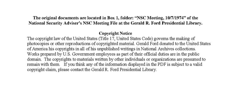 File:NSC Meeting, October 7, 1974 (topics- Leaks of Classified Documents, Strategic Arms Limitation Talks (SALT))(Gerald Ford Library)(1552376).pdf