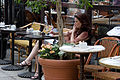 NYC - A young woman in a cafe - 1352.jpg