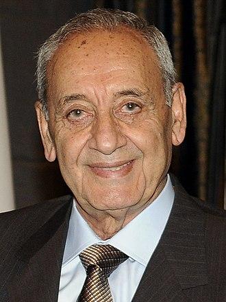 Lebanese general election, 2009 - Image: Nabih Berri