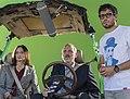 Nacho Ruipérez junto a los actores de la película 'El Desentierro'.jpg