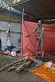 Naga Sadhu - Gangasagar Fair Transit Camp - Kolkata 2013-01-12 2499.JPG