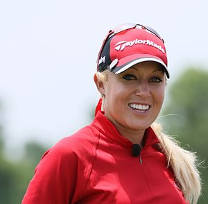 Natalie Gulbis - Gulbis at the 2009 LPGA Championship