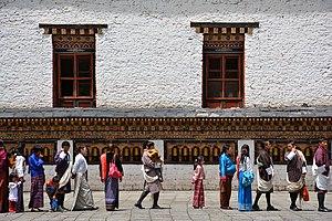 National clothes (Bhutan)