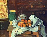 Nature morte à la commode, par Paul Cézanne, FWN 807.jpg