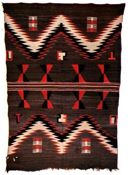 File:Navajo blanket.jpg