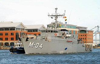 Latvian Naval Forces - Image: Naval visit, Belfast (3) geograph.org.uk 667223