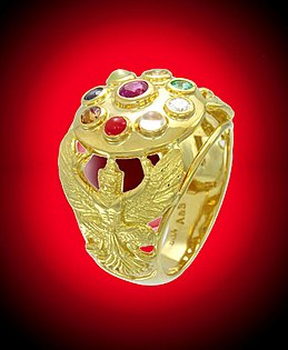 Navaratna-ring