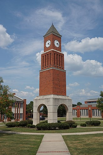 Navarro College - Barracks Bunch Clock Tower