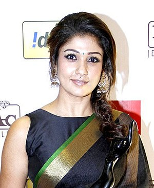 Nayanthara - Nayanthara at the 61st Filmfare Awards South, 2014