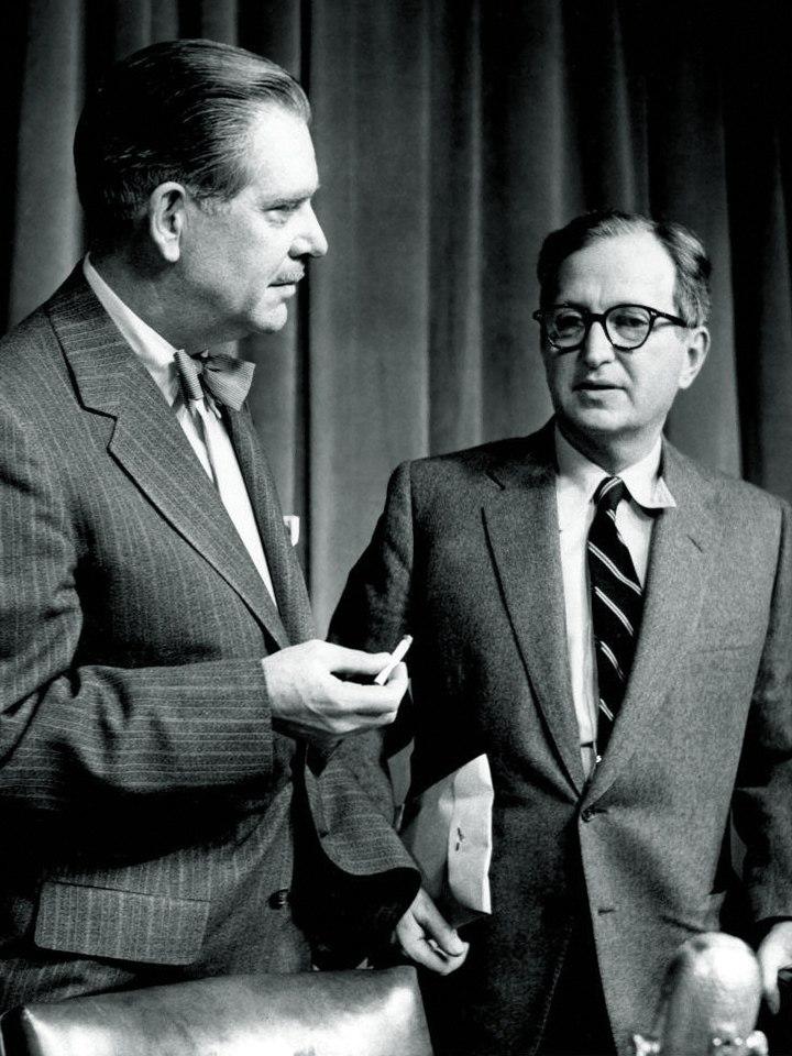 Ned Brooks Lawrence Spivak Meet the Press 1960