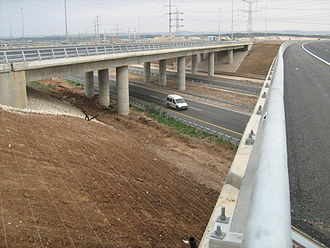 Route 431 (Israel) - Nesharim Interchange