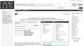 NeuroLex - Image: Neuro Lex Screen shot 2014 02 01