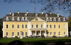 Neuwied - Neuwied Castle, residence of the Lower County of Wied