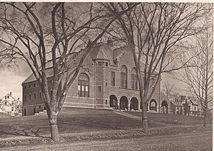 Nevins Memorial Library - Image: Nevins Memorial Library 1883