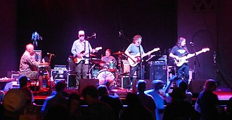 New Riders of the Purple Sage - New Riders of the Purple Sage in 2015. Left to right: Buddy Cage, Michael Falzarano, Johnny Markowski, David Nelson, Ronnie Penque.