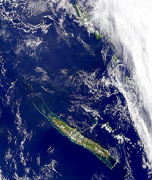 New Caledonia - New Caledonia from space