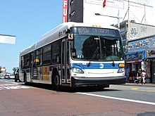 Q20 and Q44 buses - Wikipedia Q Bus Route Map on