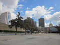 New Orleans High Rises from Girod by the Dome.JPG