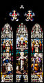 New Ross Church of St. Mary and St. Michael South Aisle East Window Holy Trinity and Holy Family 2012 09 04.jpg