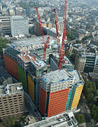 central saint giles under construction in 2009 central saint giles office building google