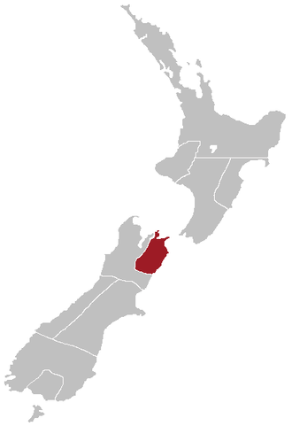 Marlborough Province - Map showing the boundaries of the Marlborough Province
