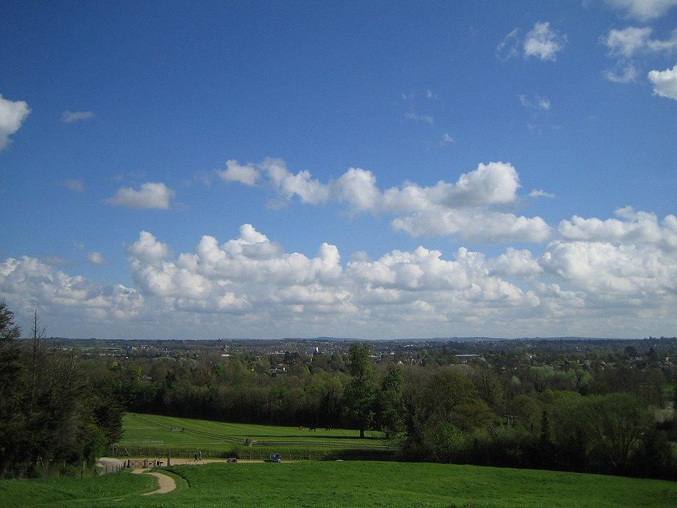 Newbury and surroundings