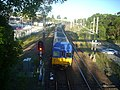Newcastle Bound train leaving Morisset station - panoramio.jpg
