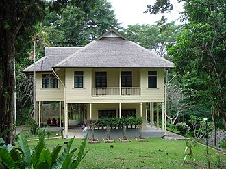 Agnes Newton Keith - Newlands, the postwar home of the Keiths in Sandakan. Photo taken in Dec 2007.