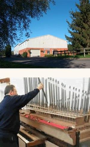 Nicholson & Co Ltd - New Nicholson factory in Malvern;