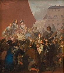 Nicolai Abildgaard: The Oath of Fealty in 1660