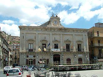 Nicosia, Sicily - Town hall