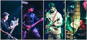 Music of Madhya Pradesh - Nicotine is  a Metal/Heavy metal band from Indore