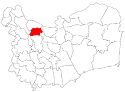 Location of Niculiţel