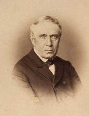 Niels Christian Kierkegaard - Portrait of Niels Christian Kierkegaard by Budtz Müller, 1882