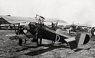 Nieuport 16 French WW1 fighter aircraft