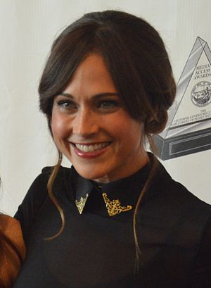 Nikki DeLoach - DeLoach at the Media Access Awards in October 2012